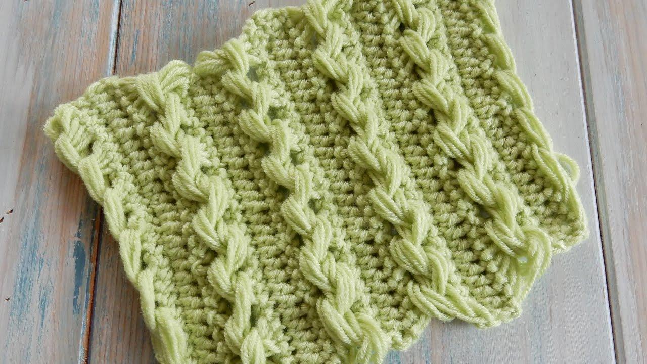 Loop Stitch Braid  How To Crochet (fiddly!)