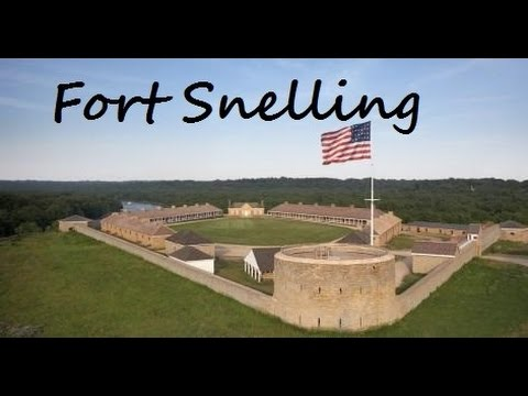 My Trip to Fort Snelling - St.  Paul and Minneapolis, MN