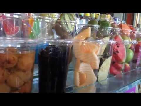 น้ำผลไม้ปั่นอร่อยที่สุด Thailand Fruit smoothies