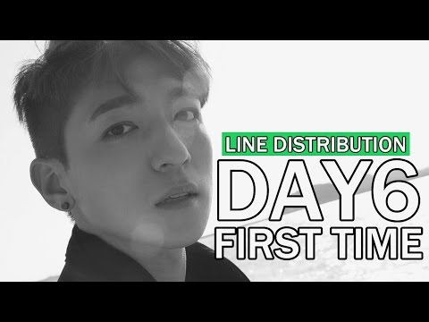 Day6 - First Time (Line Distribution)