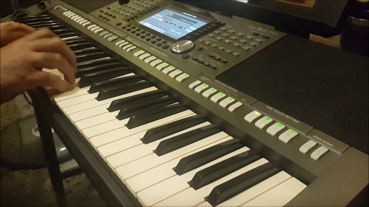 godfather theme music yamaha psr s970 youtube. Black Bedroom Furniture Sets. Home Design Ideas