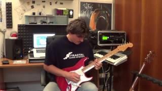 Poles Apart - Guitar Solo by Edoardo Scordo - Fractal Audio System Axe Fx II
