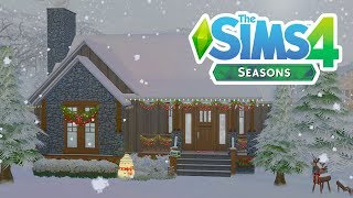 SEASONS WINTER WONDERLAND // The Sims 4: Speed Build
