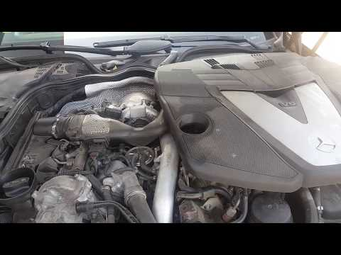 Worn out engine on Mercedes CLS 320 CDI