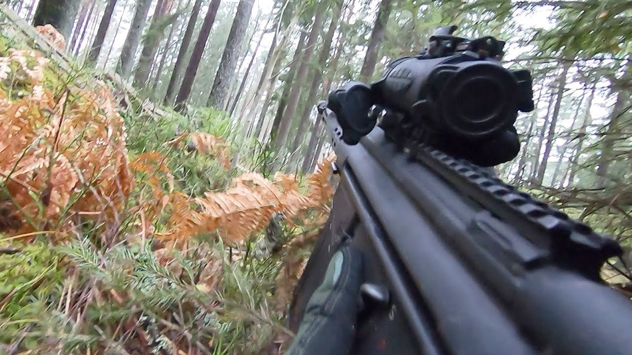 Helmet Cam Video of Swedish Soldiers During Intense Military Training