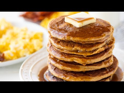 How to Make Healthy Whole Wheat Pancakes
