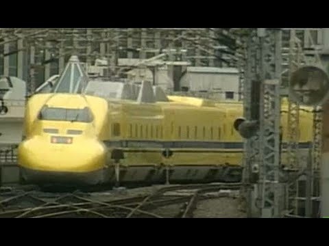 Japan Bullets Trains maintenance routine- clip from NHK World  documentary.