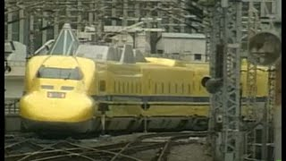 Japan Bullets Trains' maintenance routine- clip from NHK World  documentary.