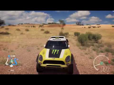 2017 Mini X Raid All4 Racing Countryman Sd Jump Crash Test Forza Horizon 3 1440p 60fps