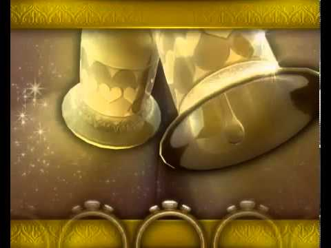 Wedding Bells Video Background TVSD091 Free Animations For Videos In Powerpoint On