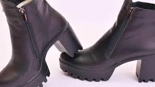 видео Мужские ботинки на толстой подошве