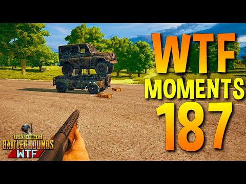 PUBG Funny WTF Moments Highlights Ep 187 (playerunknown\'s battlegrounds Plays)