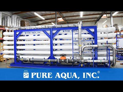 Industrial Water Desalination Plant 1,000,000 GPD | Saudi Arabia | www.pureaqua.com