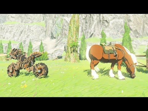 Master Cycle Zero Vs Epona! Who's Faster? Zelda Breath of the Wild