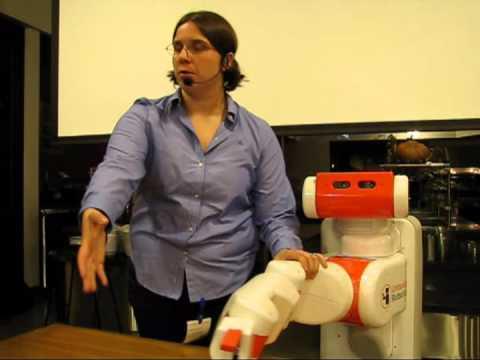 Home Brew Robotics Club Meeting - Nov 2013 - Talk - Unbounded Robotics UBR-1