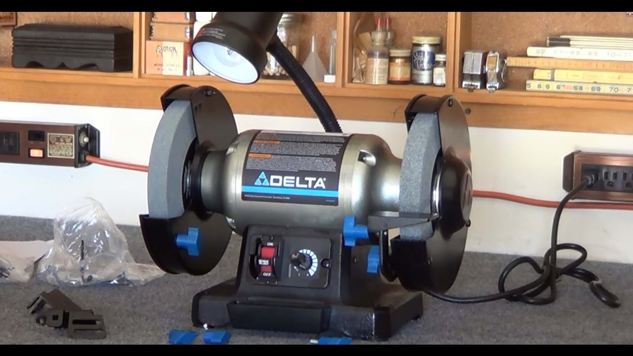 Delta 23 197 Grinder Review Video 118 Youtube