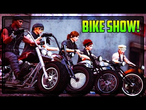 GTA ONLINE BIKE SHOW W/ COOL OUTFITS! (Xbox One)