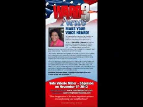 Valerie edgerson promo council ward 3 akron ohio