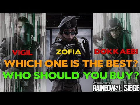 Which Operation White Noise Operator is THE BEST? || Rainbow Six Siege