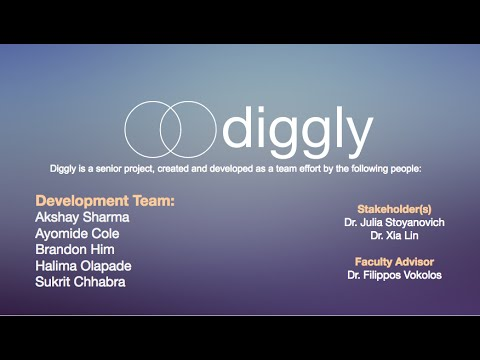 Diggly: Smart data extraction and graph visualization of Wikipedia articles