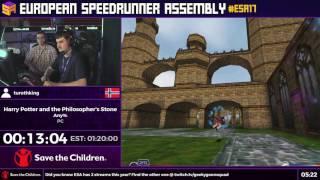 #ESA17 Speedruns - Harry Potter and the Philosopher