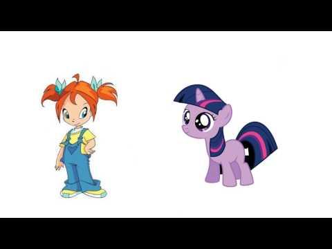Winx Club VS My Little Pony Children