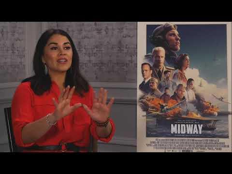 Alanna Sarabia With Ed Skrein And Luke Kleintank For Midway