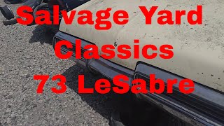 1973 Buick Lesabre salvage yard find