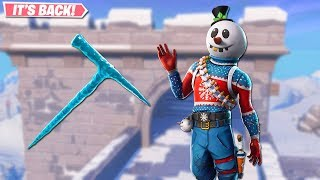 SLUSHY SOLDIER SKIN EST BACK! NOUVEAU SKINS LEAKED SUR FORTNITE!! FORTNITE BATTLE ROYALE!!!