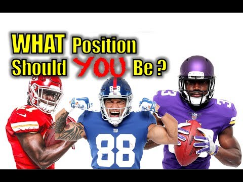 What Position Should You Play in Football 🏈? - Football Tip Fridays