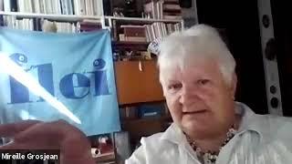 """2020-06 Kia estas bona instruisto  Prelego de Mireille Grosjean"""" Mirejo"""""""