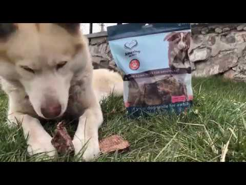 amazing-dog-treats-,-lamb-lung---premium-dog-treats---all-natural