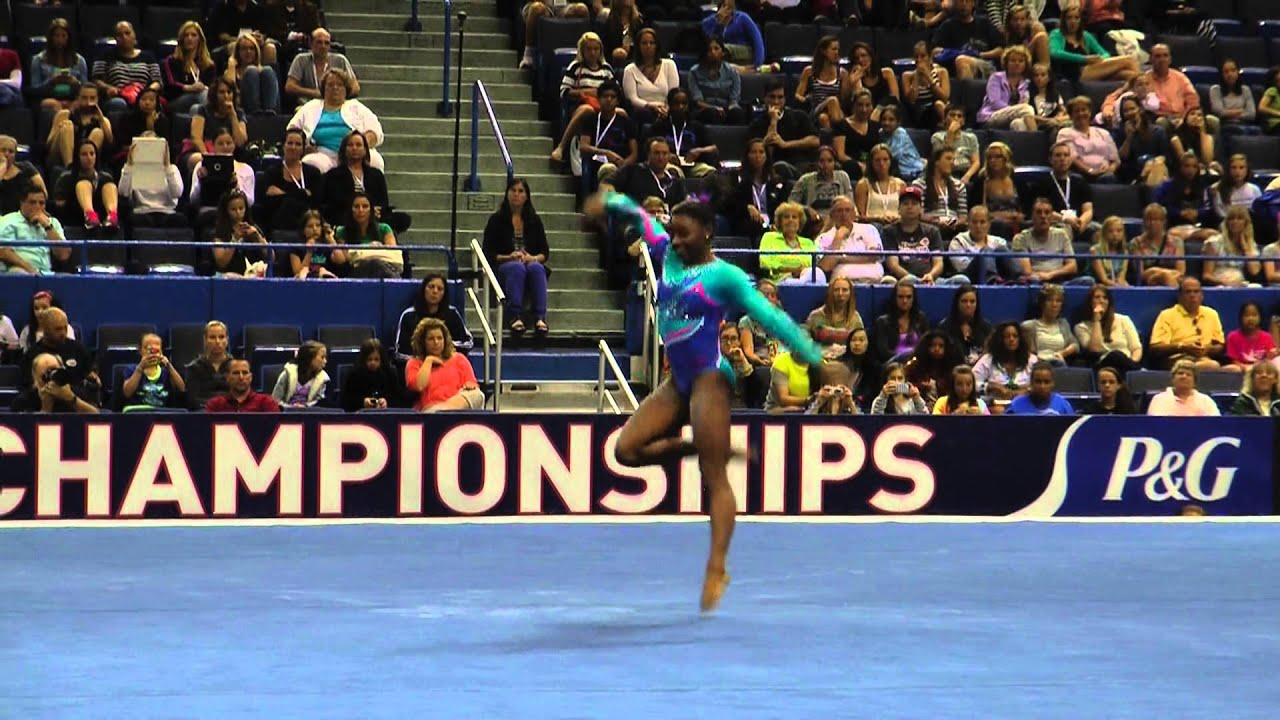 Simone Biles Floor Exercise PG Championships Sr Women