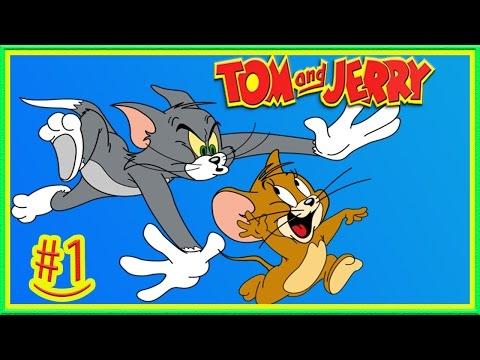 Том и Джерри #1 Как МЫШКА ВОРИШКА Веселая игра для детей! Джерри убегает от кота Тома!