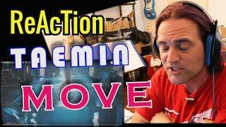 Reaction TAEMIN 태민 'MOVE' #1 MV // Classical Guitarist Reacts