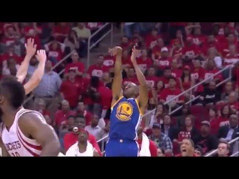Golden State Warriors vs Houston Rockets 96-97 PTS 2016 NBA Playoffs  Game 3 April 22