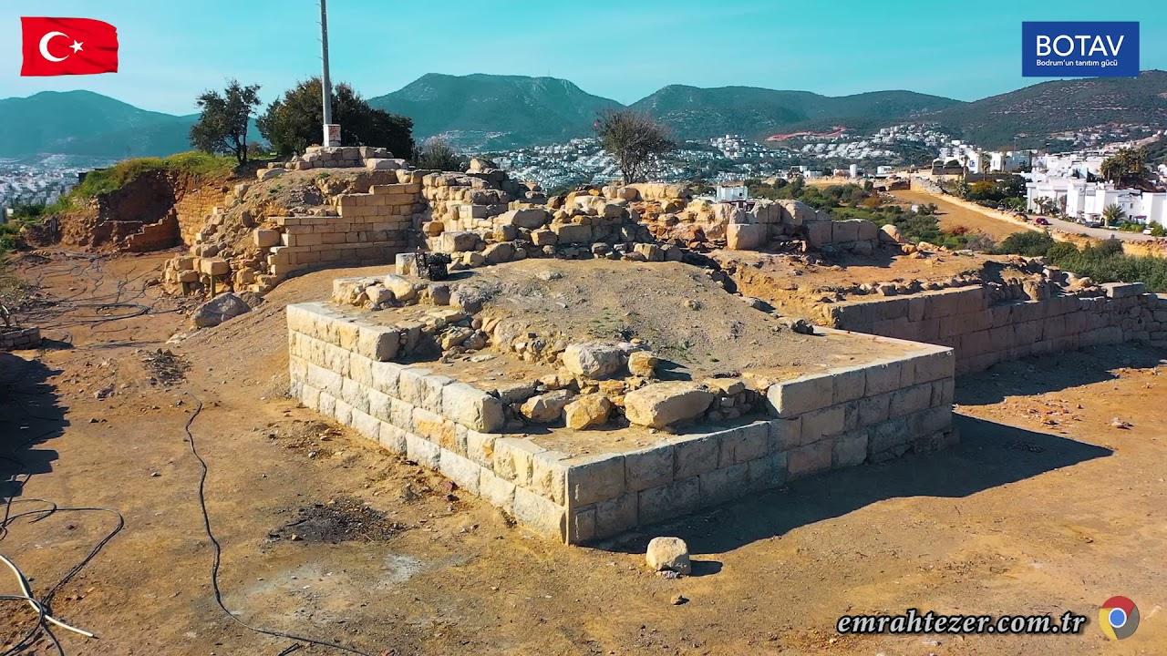 Halikarnassos Batı Sur Duvarları-Gümbet/Bodrum-MUĞLA