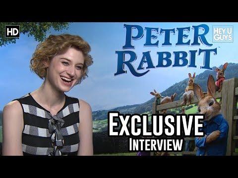 Elizabeth Debicki  Peter Rabbit Exclusive