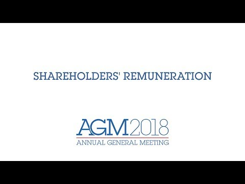 Air Liquide's 2018 AGM - Shareholders' remuneration