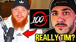 NICKMERCS *CONFRONTS* TimTheTatman about JOINING 100THIEVES! *AWKWARD*