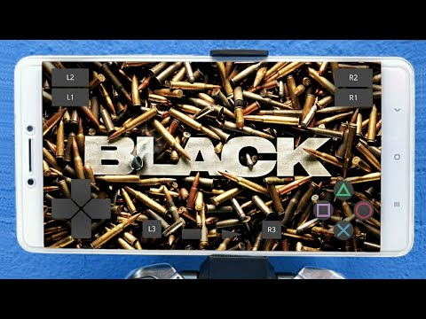 INCRÍVEL!! BLACK OFICIAL (PS2) no CELULAR ANDROID - GAMEPLAY HD (DOWNLOAD)