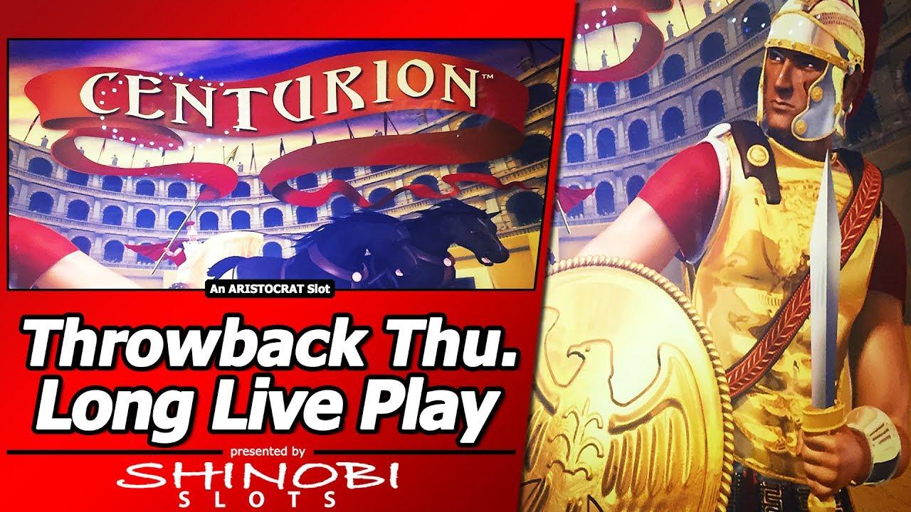 Centurion Slot Throwback Thursday Long Live Play Youtube