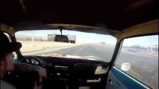 1972 Chevy Luv Action! burnouts! Donuts! drifting!