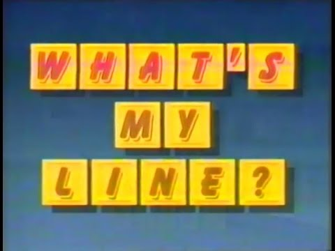 What's My Line - 1988