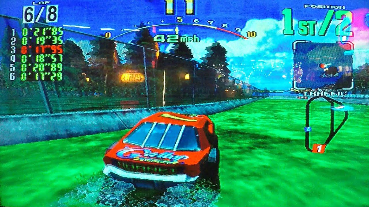 Daytona USA Stock Car Auto Racing Arcade Game Similar To Nascar Team ...