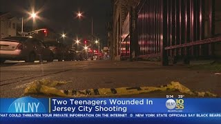 Two Teens Wounded In Jersey City Shooting