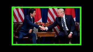 Breaking News | Donald trump to play golf with hideki matsuyama, japan pm at 2020 olympics site