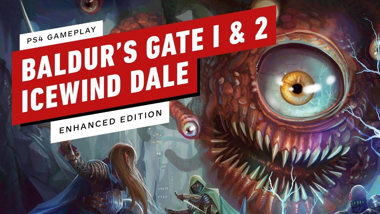 23 Minutes Of Baldur S Gate 1 2 And Icewind Dale Enhanced Edition On Ps4