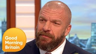 WWE Superstar Triple H Addresses Conor McGregor and Ronda Rousey Rumours | Good Morning Britain