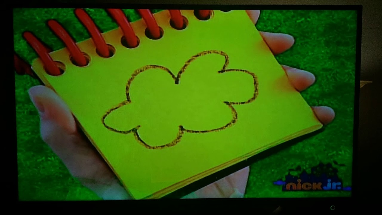 Blue S Clues Drawing A Cloud Youtube